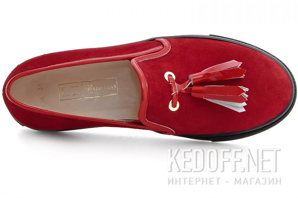Женские мокасины Las Espadrillas 03534-473 Made in Italy