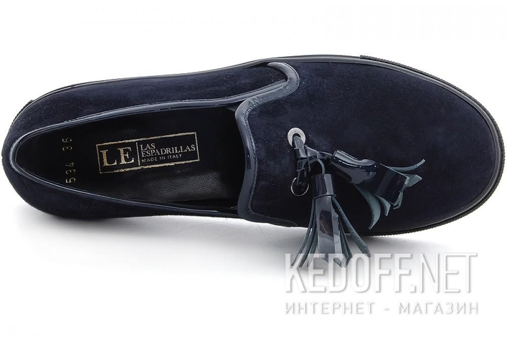 Женские мокасины Las Espadrillas 03534-89 Made in Italy