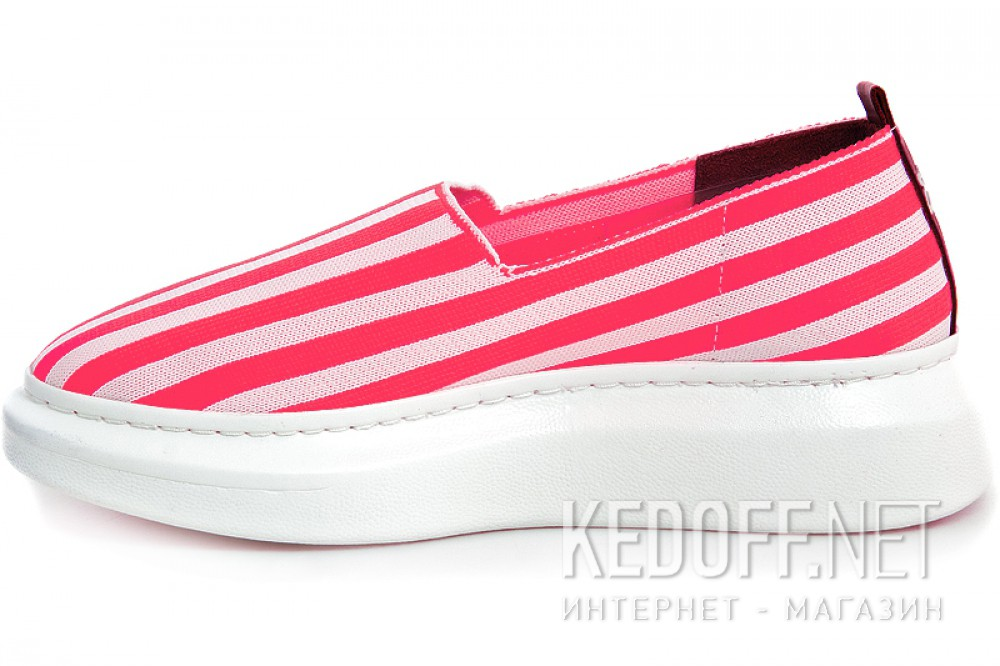 Летняя обувь Las Espadrillas Freerun 037-2015-78 Розовая полоска