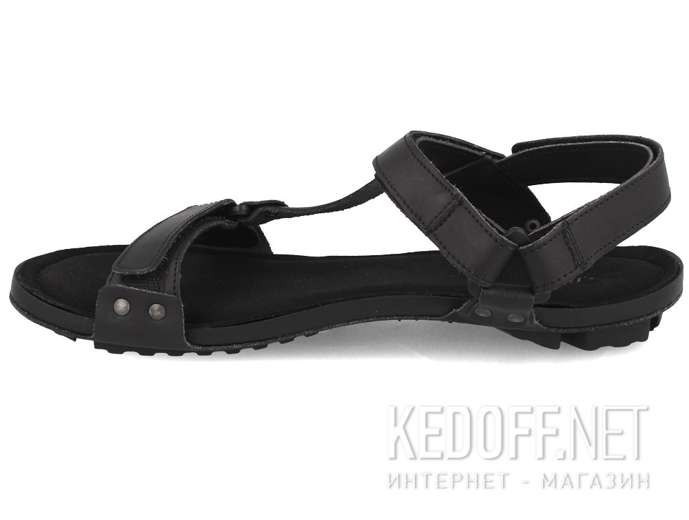 Мужские сандалии Las Espadrillas 06-0256-001   (чёрный) купить Киев