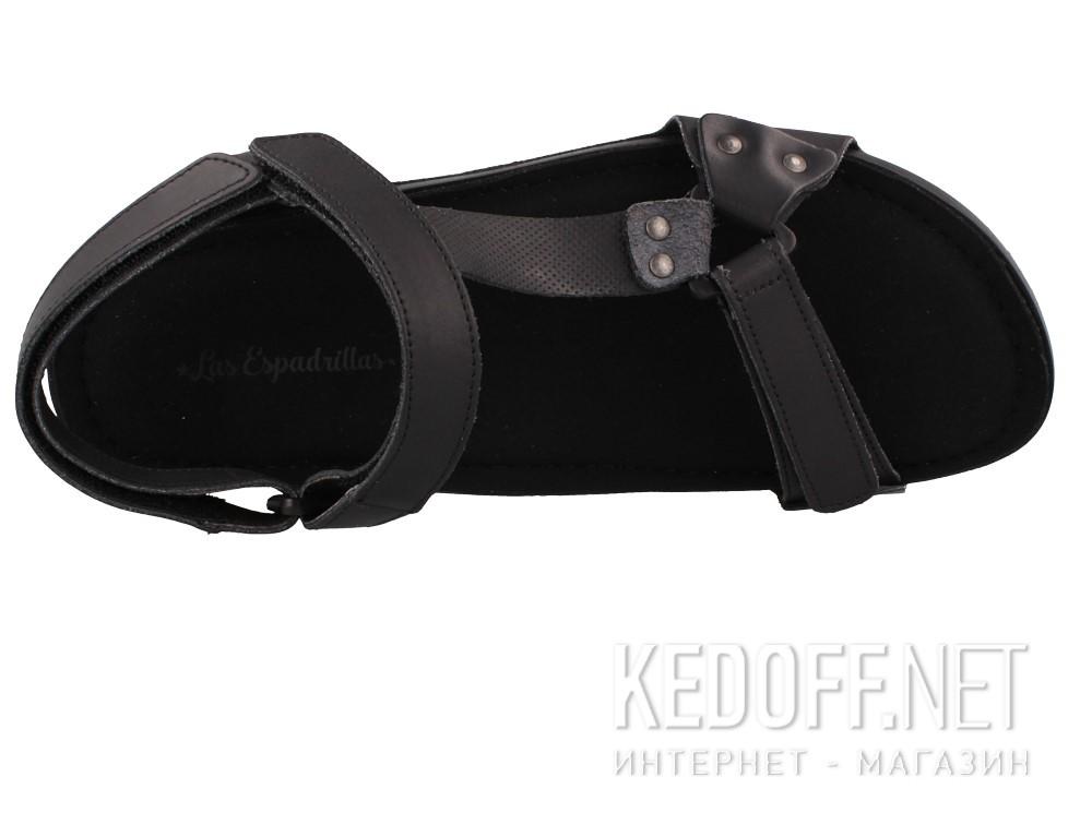 Оригинальные Мужские сандалии Las Espadrillas 06-0256-001   (чёрный)