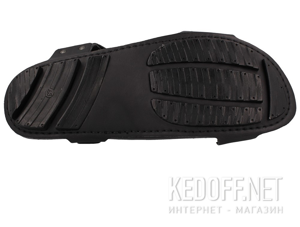 Мужские сандалии Las Espadrillas 06-0256-001   (чёрный) описание