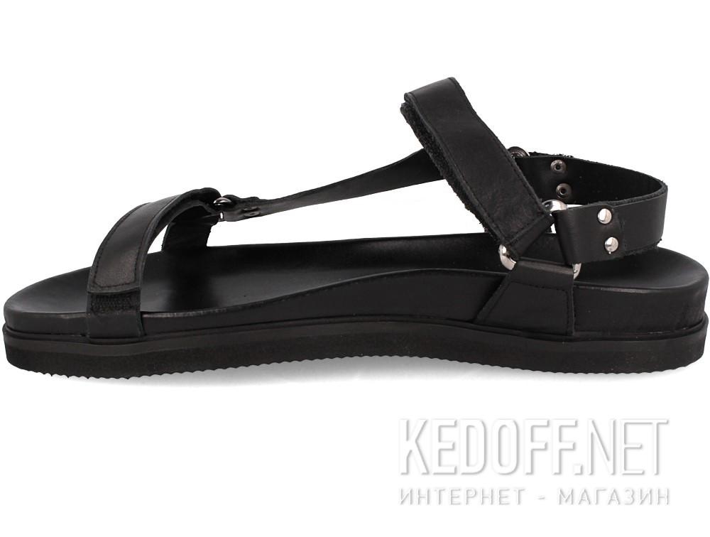 Мужские сандалии Las Espadrillas 06-0257-001   (чёрный) купить Киев