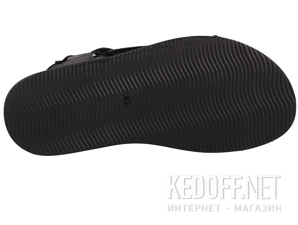 Мужские сандалии Las Espadrillas 06-0257-001   (чёрный) описание