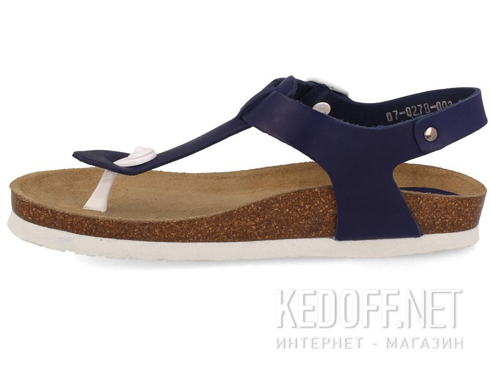 Sandały Las Espadrillas 07-0278-002 (niebieski) купить Киев
