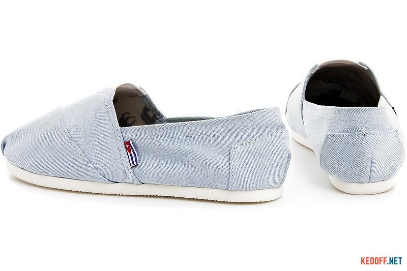 Las Espadrillas Light Blue Jeans 1015-42