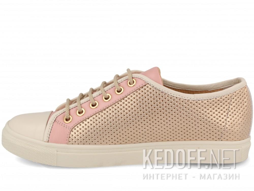 Кеды Las Espadrillas 116-TC-34 унисекс   (розовый) купить Украина