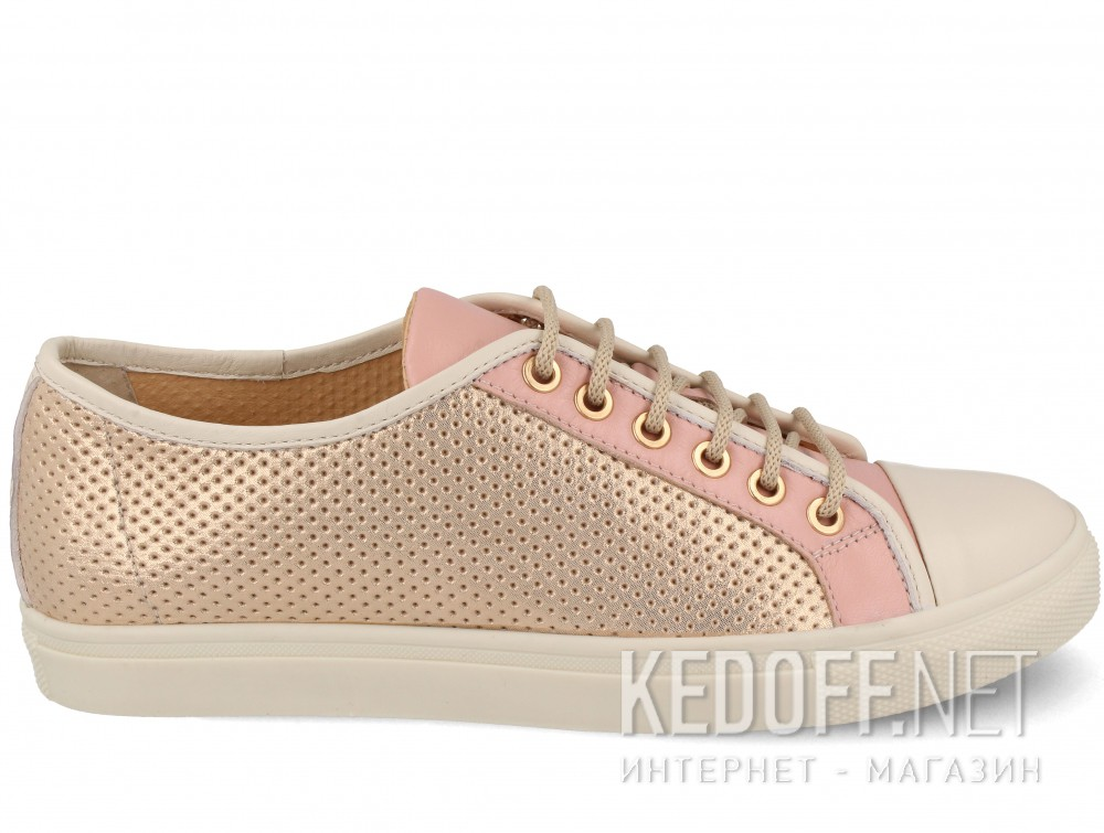 Кеды Las Espadrillas 116-TC-34 унисекс   (розовый) купить Киев