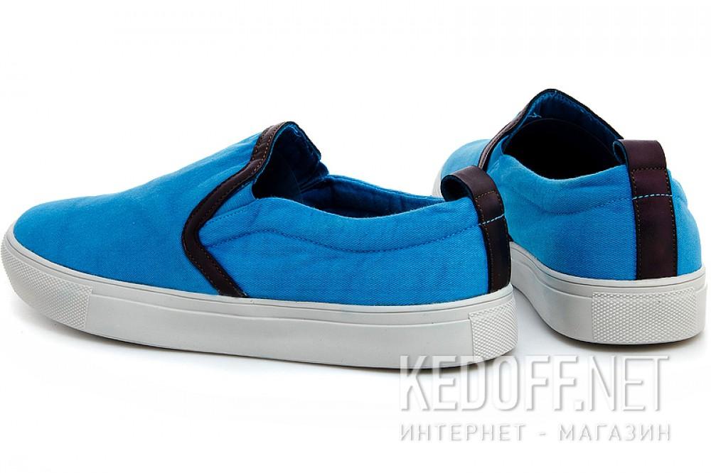 Чоловічі сліпони Las Espadrillas 14003-40 Блакитні