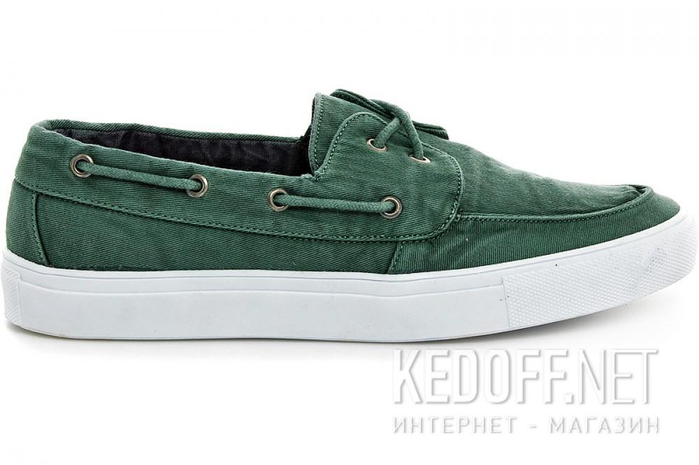 Men's sneakers Las Espadrillas 15006-22 Green jeans