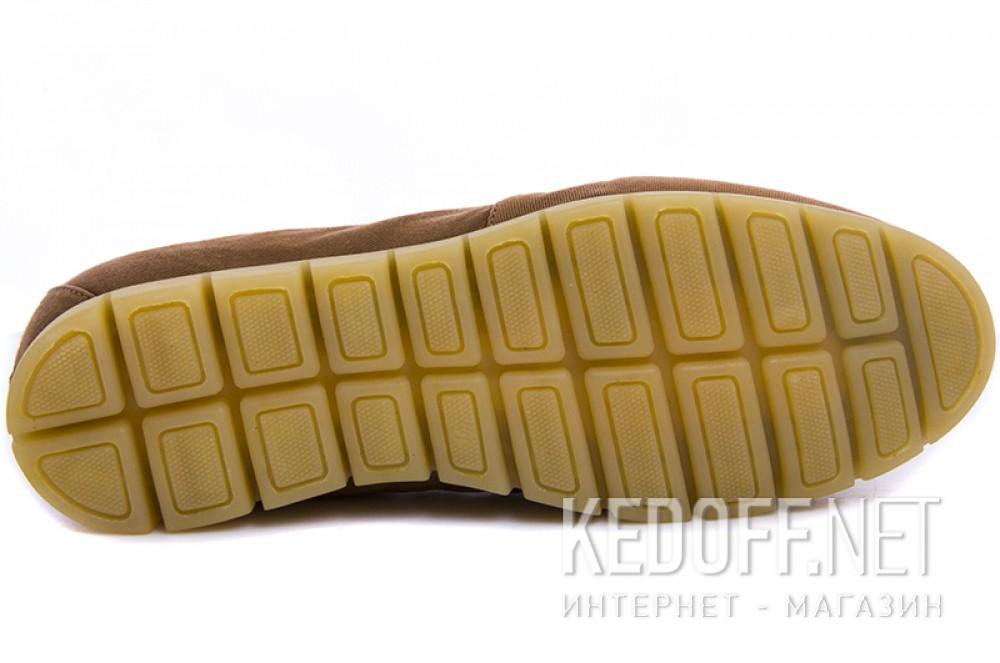 Мужские мокасины Las Espadrillas 15065-45 Светлокоричневый