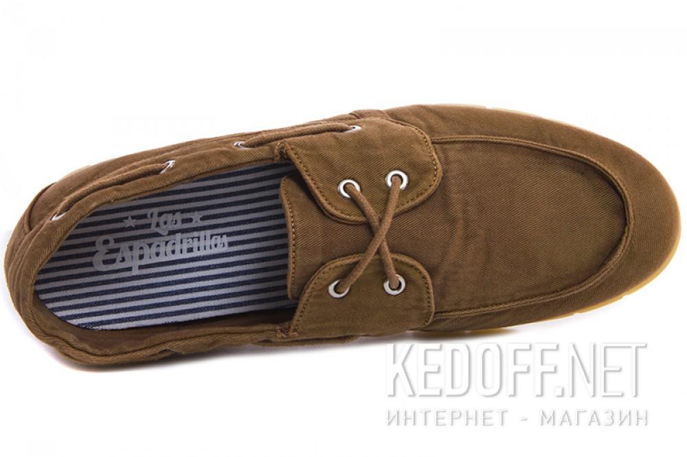 Men's loafers Las Espadrillas 15065-45 light brown