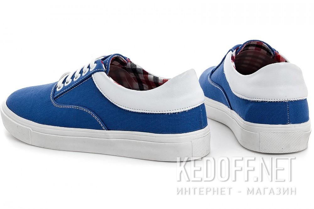 Женская текстильная обувь Las Espadrillas 1508-01   (голубой) купить Украина