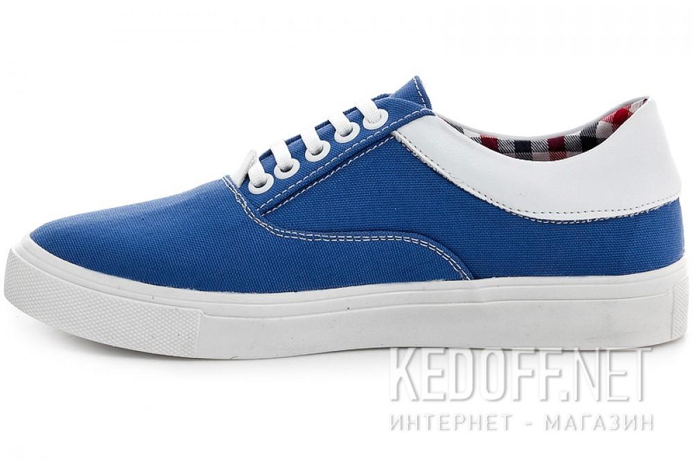 Женская текстильная обувь Las Espadrillas 1508-01   (голубой) купить Киев