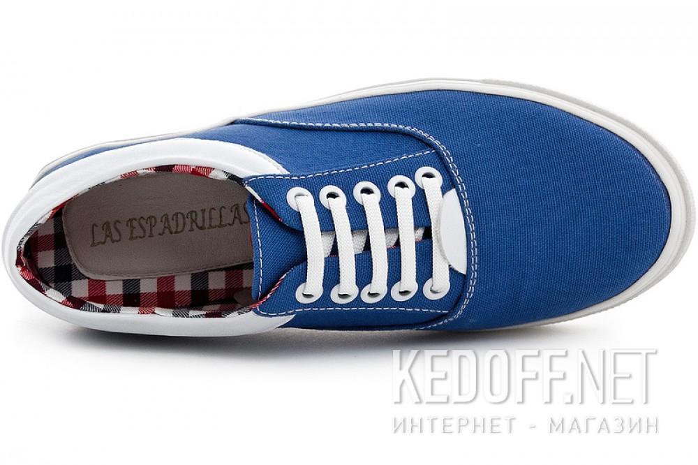 Цены на Женская текстильная обувь Las Espadrillas 1508-01   (голубой)