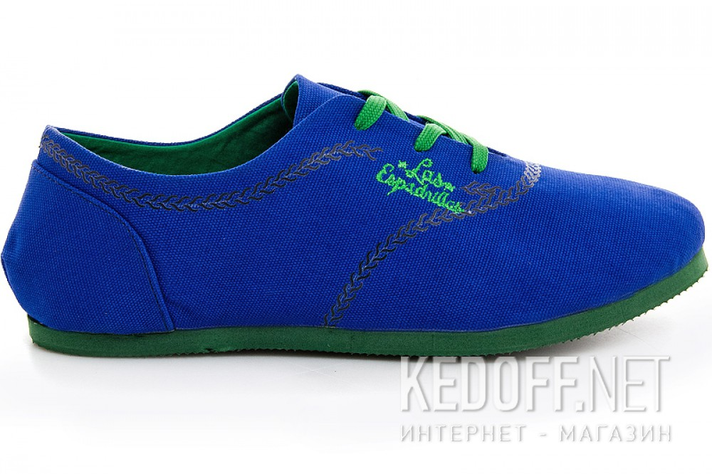Sneakers Las Espadrillas 1550-24 unisex (Blue)