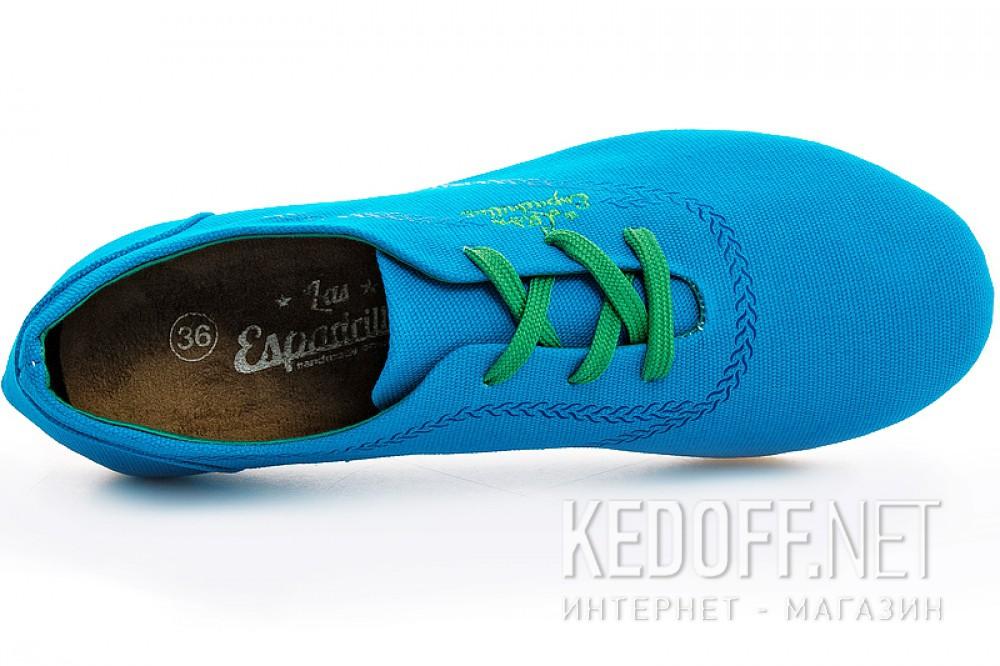 Женские кеды Las Espadrillas Soul 1550-40 Snorkel Blue