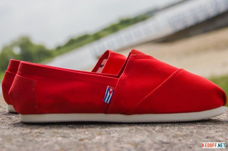 Summer shoes Las Espadrillas 2013-2 Red Cotton