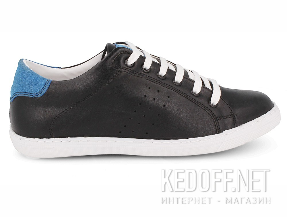 Sneakers Las Espadrillas Black Blue Smith 20324-2740