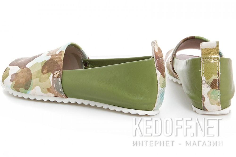 Мокасини Las Espadrillas 2087012-22 (Зелений) купити Україна