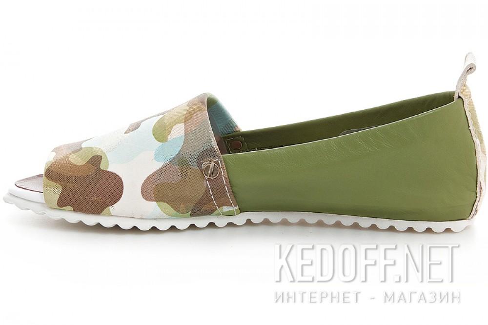 Мокасини Las Espadrillas 2087012-22 (Зелений) купить Киев
