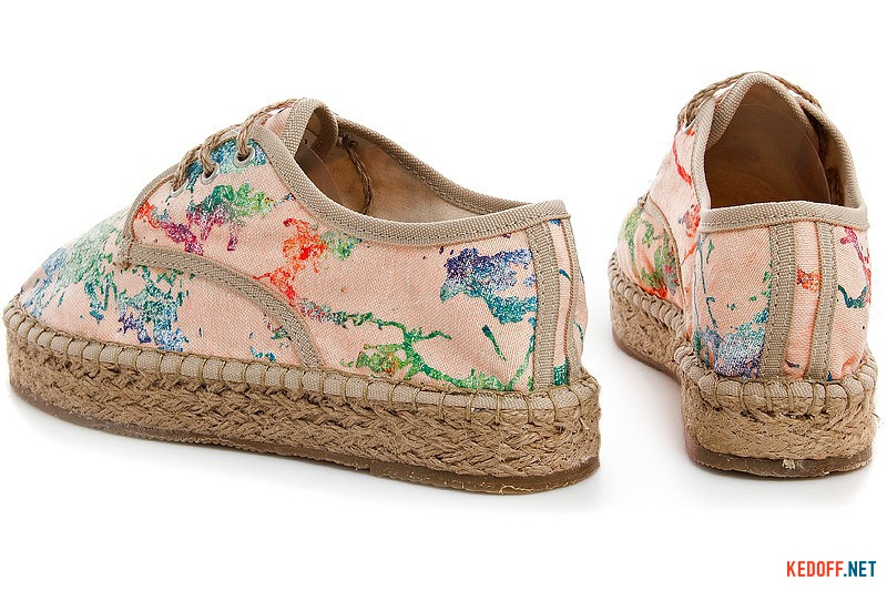 Summer women's lace-up espadrilles Las Espadrillas 2091-34