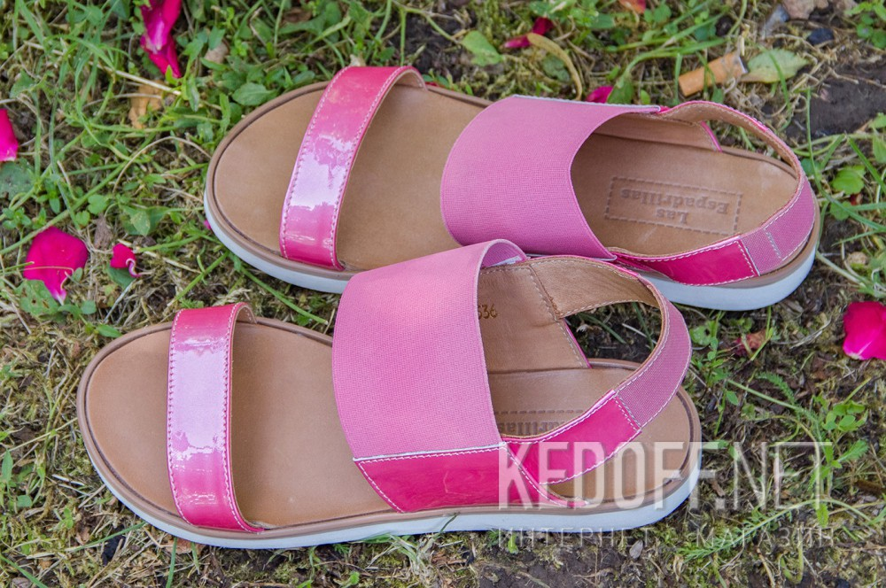 Women's sandals Las Espadrillas 2244-34 Pink
