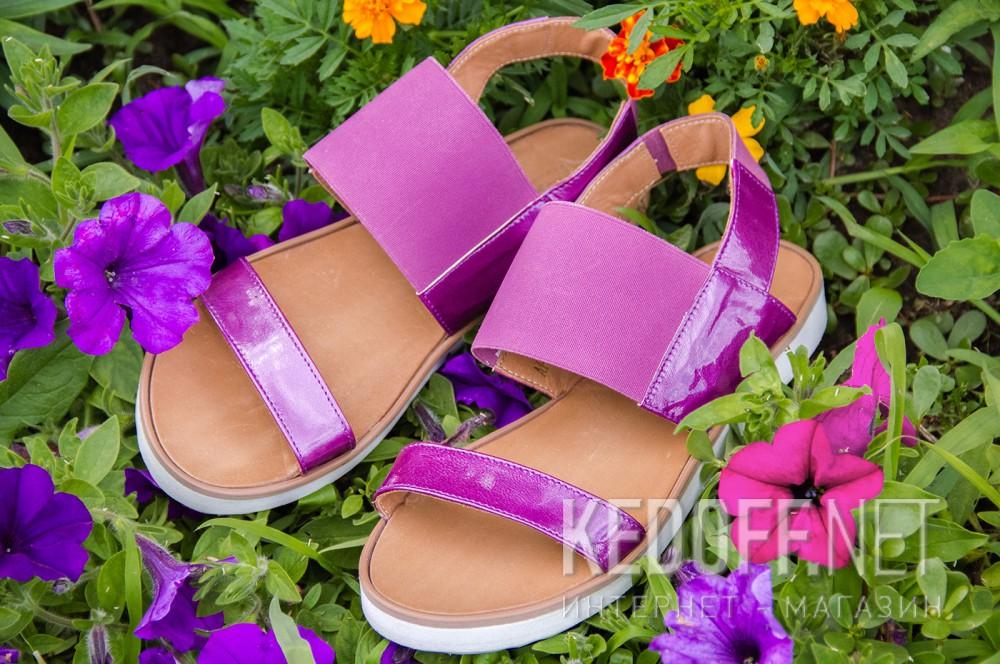 Жіночі сандалі Las Espadrillas 2248-24 Світлофіолетові