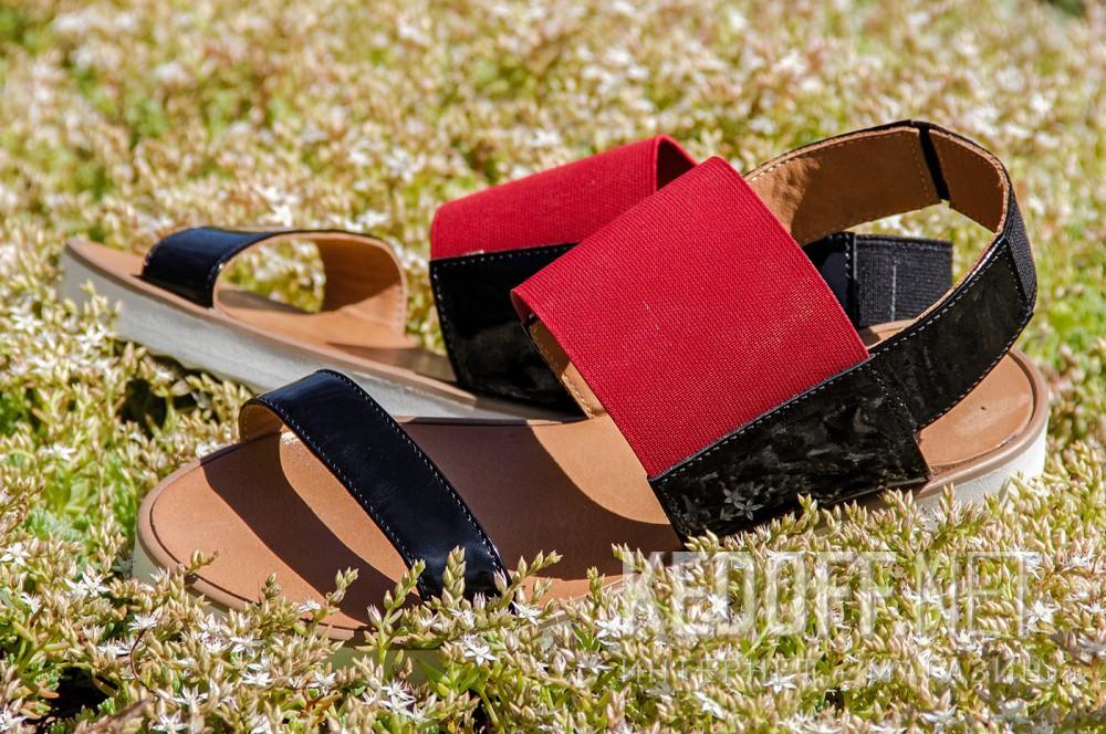 Womens sandals Las Espadrillas 2249-47 Patent leather