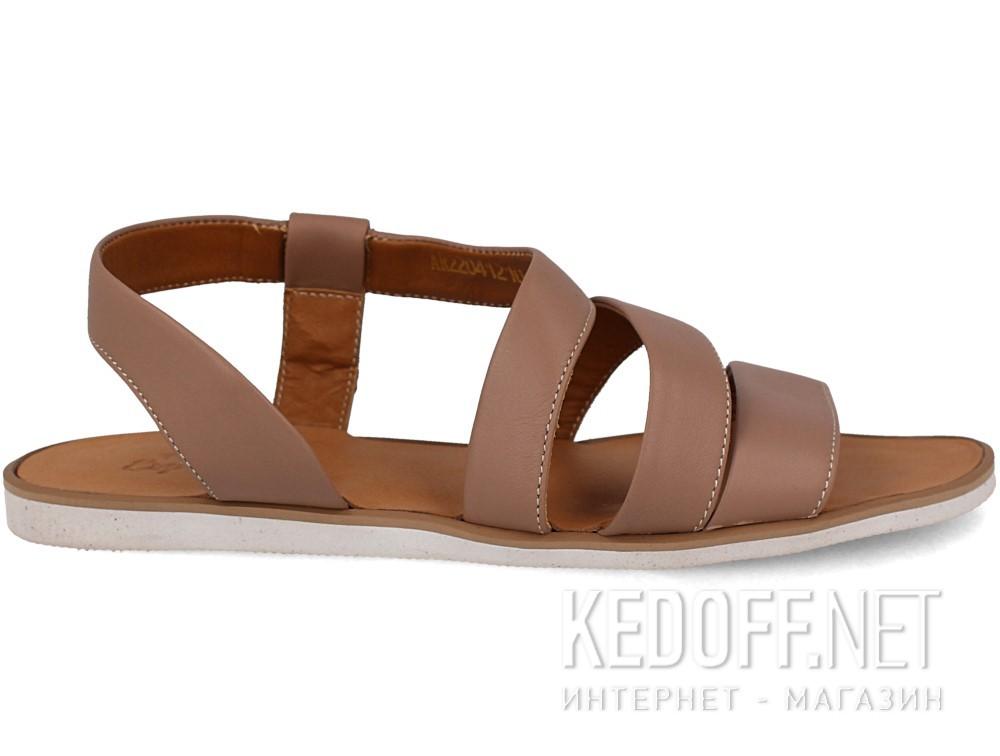 Сандалии Las Espadrillas 2404-45 унисекс   (светло-коричневый) купить Украина