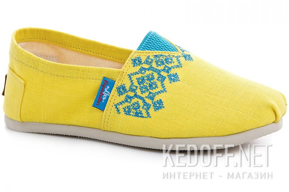 Купить Эспадрильи Las Espadrillas 3015-61 унисекс   (жёлтый)