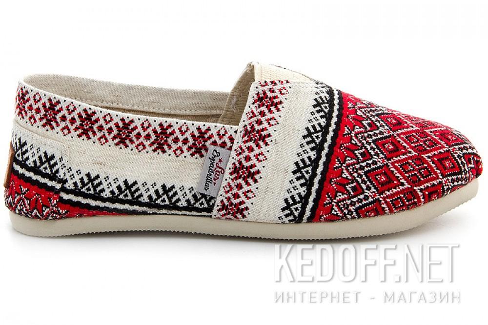 Літнє взуття Las Espadrillas Vyshyvanka 3015-62