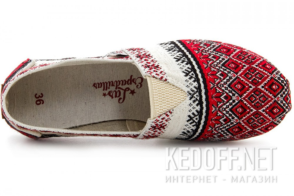Летняя обувь Las Espadrillas Vyshyvanka 3015-62