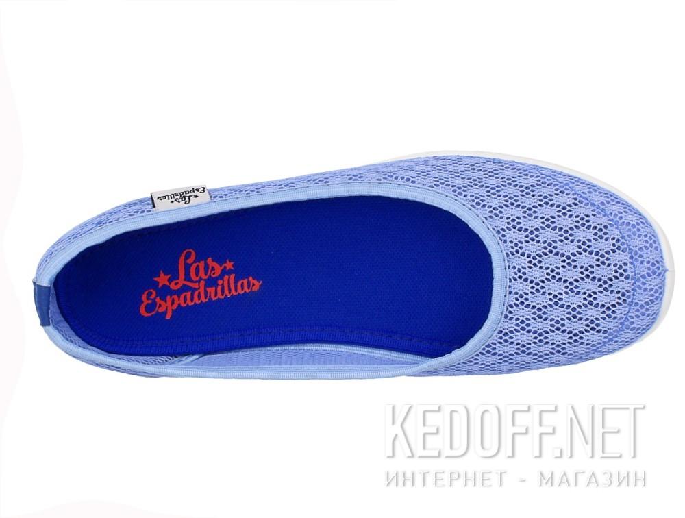 Балетки Las Espadrillas Blue Marine 32636-40 (блакитний) описание