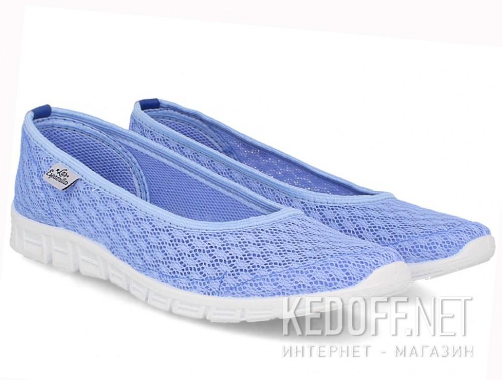 Купити Балетки Las Espadrillas Blue Marine 32636-40 (блакитний)