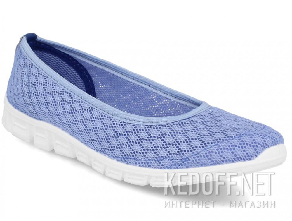 Балетки Las Espadrillas Blue Marine 32636-40 (голубая сеточка) купить Украина