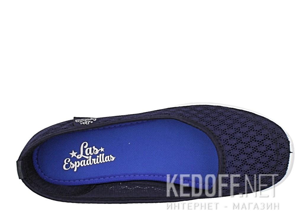 Балетки Las Espadrillas 32636-89   (тёмно-синий) описание
