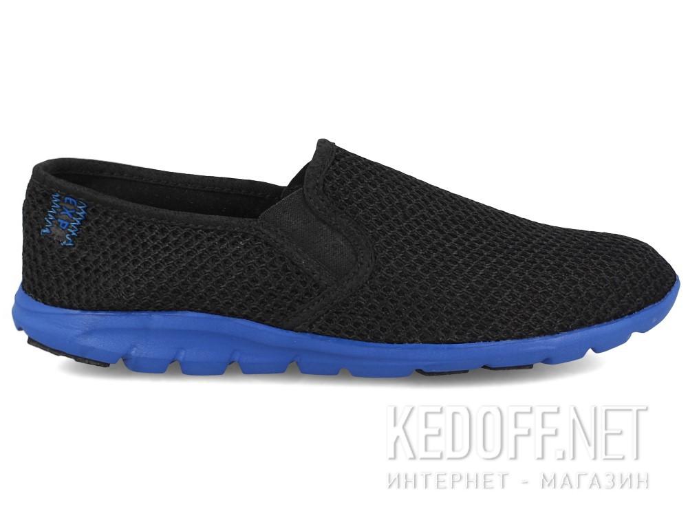 Мужские слипоны Las Espadrillas 4064-27   (чёрный) купить Украина