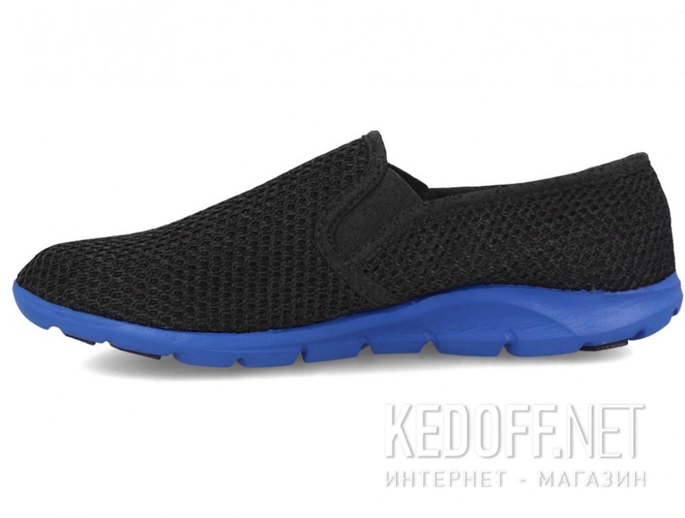 Мужские слипоны Las Espadrillas 4064-27   (чёрный) купить Киев
