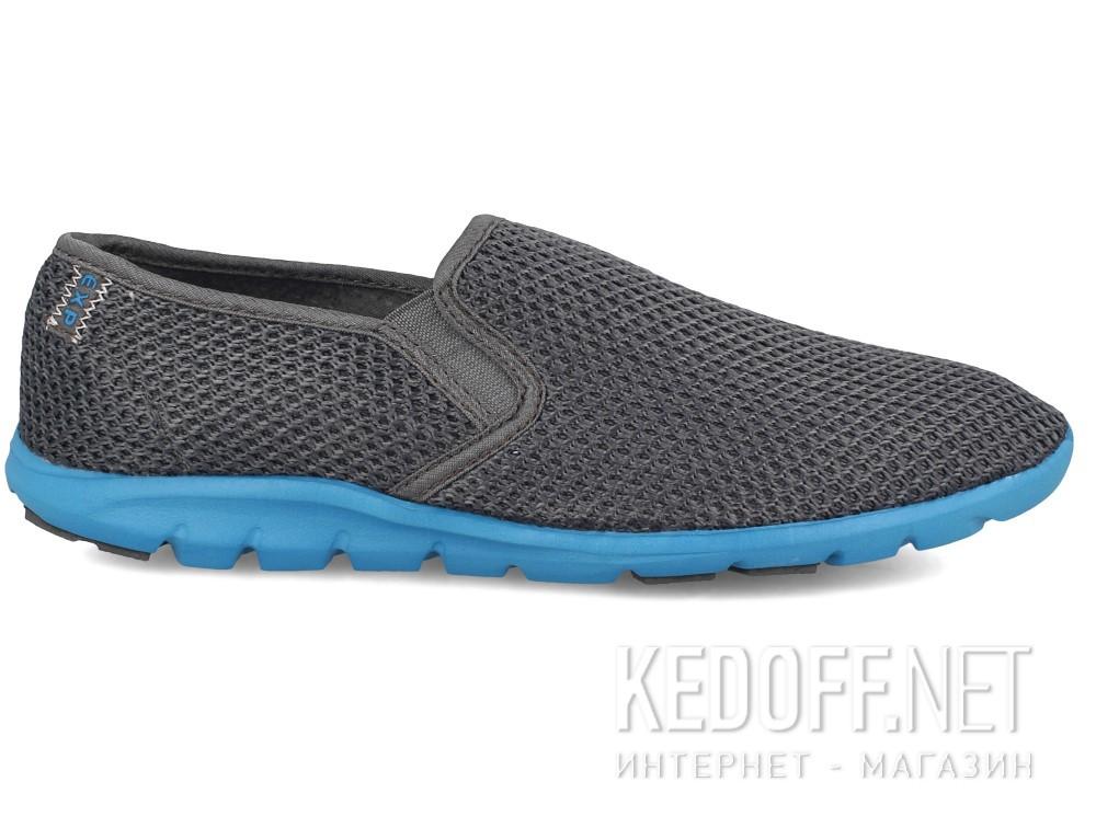 Мужские слипоны Las Espadrillas 4064-37   (серый) купить Украина