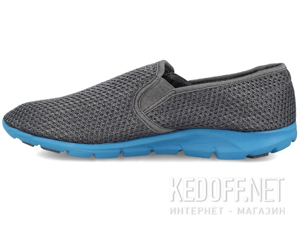 Мужские слипоны Las Espadrillas 4064-37   (серый) купить Киев