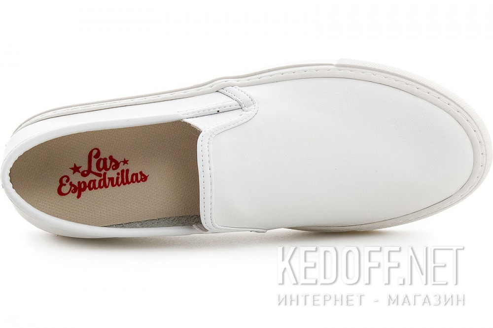 Білі сліпони Las Espadrillas 4161-13 Sl