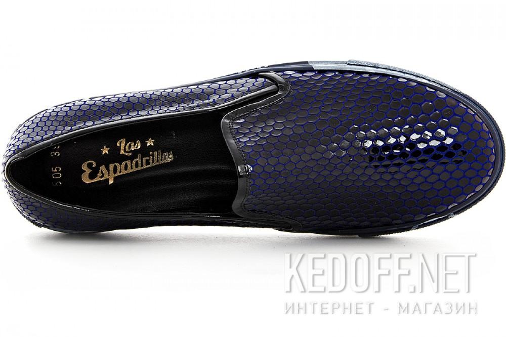 Цены на Слипоны Las Espadrillas 4510505-89SL унисекс   (тёмно-синий)