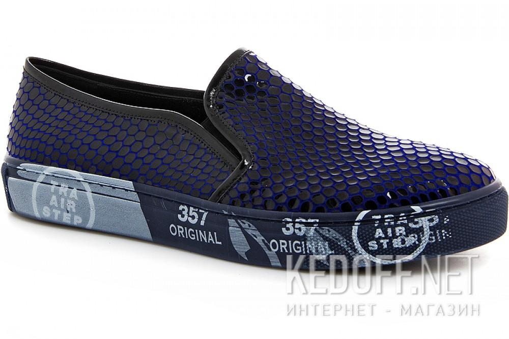Leather slipons Las Espadrillas 4510505-89Sl Navy