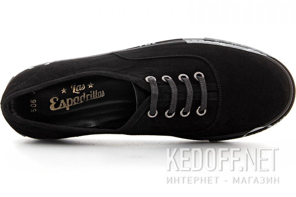 Цены на Конверсы Las Espadrillas 4510506-27SH унисекс   (чёрный)