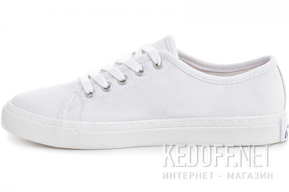 Кеды Las Espadrillas Classic White 4799-7652 Белые