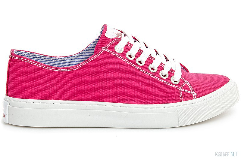 Кеды Las Espadrillas Pink Canvas 4799-9007
