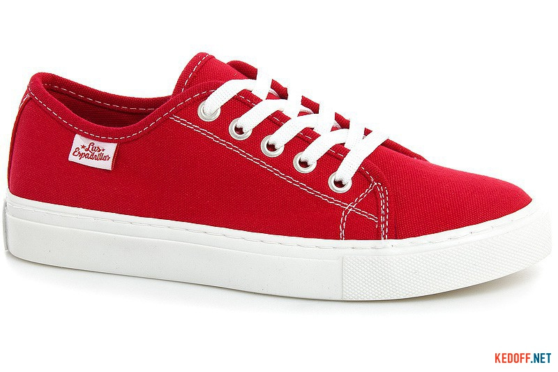 Кеды Las Espadrillas Classic Red 4799-9696 Красный хлопок