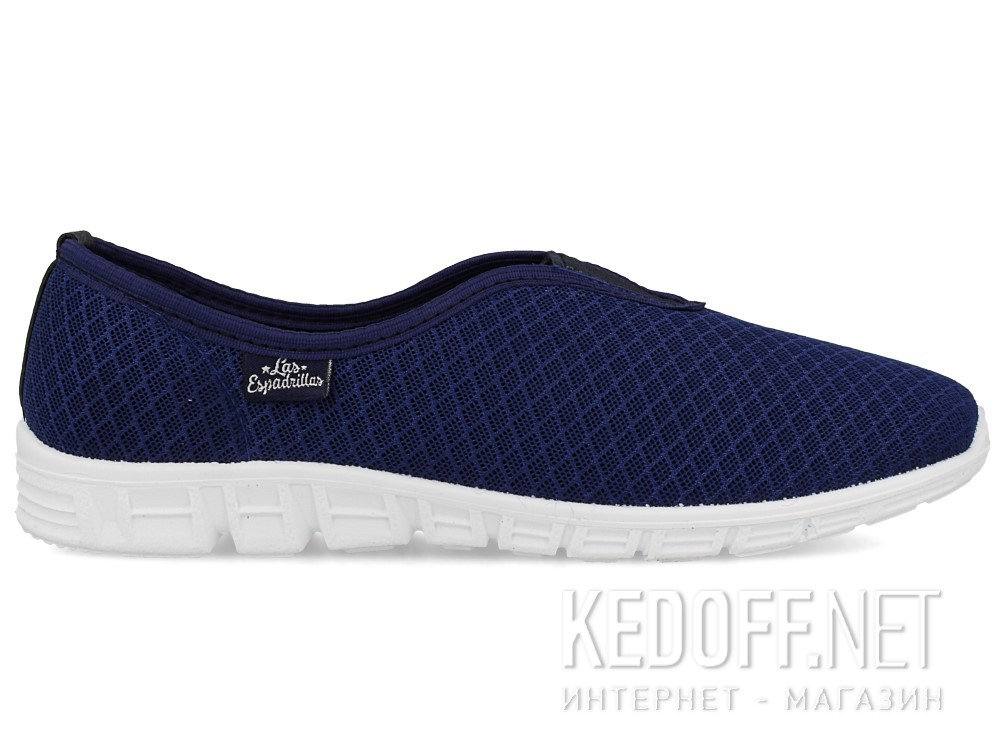 Спортивная обувь Las Espadrillas 500817-89   (тёмно-синий) купить Киев