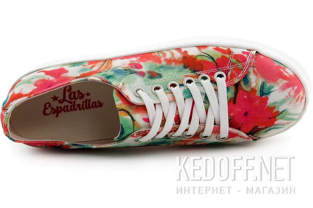 Кеды на платформе Las Espadrillas kenzoo 501-22